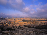 Old City, Jerusalem, Israel Photographic Print by Jon Arnold