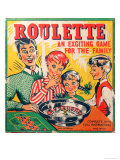 Roulette, An Exciting Game for the Family Giclee Print