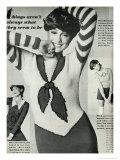 1970's Trompeloeil Knitwear Giclee Print
