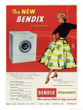 Bendix Gyramatic - Giclee Baskı