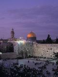 Western Wall, Jerusalem, Israel Photographic Print by Jon Arnold