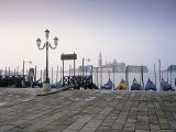Gondolas, St. Mark's Square, Venice, Italy Photographic Print by Jon Arnold