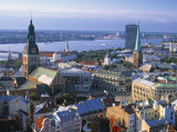 Skyline of Riga, Latvia Photographic Print by Peter Adams