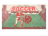 Chad Valley Soccer Board Game Print