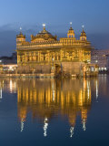 Sikh Golden Temple of Amritsar, Punjab, India Photographie par Michele Falzone