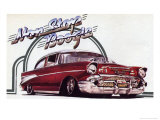 Non Stop Boogie, Chevrolet Bel Air Posters