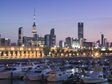 Kuwait City and Sharq Souk Marina, Kuwait Photographic Print by Walter Bibikow