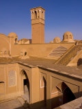 The Courtyards and Windtowers of Traditional Houses Kashan, Isfahan Province, Iran Photographic Print by Michele Falzone