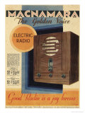 Good Radio is a Joy Forever, Macnamara Radio Giclee Print
