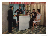 Home Bar Interiors History Posters
