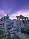 The Forum, Rome, Italy Photographic Print by Walter Bibikow