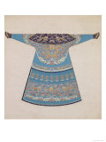 The Back of a Summer Court Robe Worn by the Emperor, China Lámina giclée