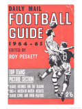 Daily Mail, Football Guide 1964-65 Giclee Print