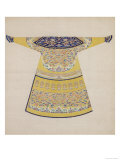 Summer Court Robe Worn by the Emperor, China Lámina giclée