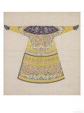 Summer Court Robe Worn by the Emperor, China Lámina giclée