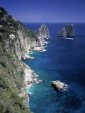 Faraglioni Rocks, Capri, Bay of Naples, Itlay Photographic Print by Gavin Hellier