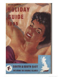 1955 British Railways Holiday Guide Giclee Print