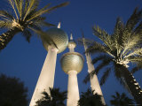 Kuwait Towers, Kuwait City, Kuwait Photographic Print by Walter Bibikow