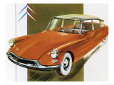 1950's Citroen ID 19 Car Prints