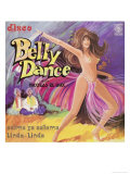 Belly Dancing Giclee Print