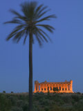 The Temple of Concordia, Agrigento, Sicily, Italy Photographic Print by Walter Bibikow