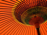 Traditional Japanese Paper Umbrella, Kyoto, Japan Photographic Print by Gavin Hellier