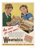 1940's Weetabix Advertisement Giclee Print
