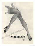 Morley Stockings Poster