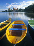 Trakai Island and Castle Nr. Vilnius, Lithuania Fotografie-Druck von Peter Adams