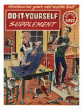 Do It Yourself, Spring 1957 Giclee Print