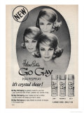 Go Gay Hair Spray Giclee Print