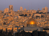 Dome of the Rock, Old City, Jeruslaem, Israel Impressão fotográfica por Jon Arnold