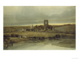 Kirkstall Abbey, Yorkshire, 18th Century Giclee Print by Thomas Girtin