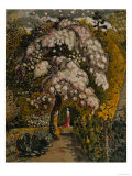 Apple Tree in Blossom In a Shoreham Garden, c.1830 Reproduction procédé giclée par Samuel Palmer