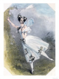 Marie Taglioni in Flore et Zephire Giclee Print by Lane Richard James