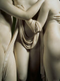 The Three Graces, Lower Part of Statue in White Marble, c.1814-17 Photographic Print by Antonio Canova