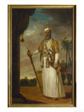 Nawab of Arcot and the Carnatic, India Giclee Print by Tilly Kettle