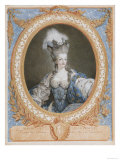 Marie Antoinette, Queen of France Gicl&#233;e-Druck von Francois Janiuet