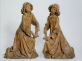 Two Angels with Candlesticks Carved in Limewood, c.1460-1531 Photographic Print by Tilman Riemenschneider