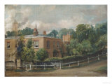 View of Lower Terrace, Hampstead, London Giclee Print by John Constable