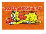 Roll Over Cat Posters