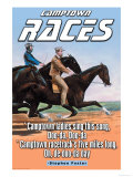 The Racetrack Poster