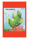 Mechanical Somersault Frog Photo