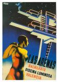Las Arenas Prints by Josep Renau Montoro
