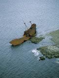 Cape Saint Marys Shipwreck, Nova Scotia Photographic Print