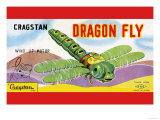 Cragstan Dragon Fly Posters