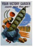 Your Victory Garden Posters by Morley 