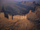 Castle Butte, Monument Valley, Utah Photographic Print