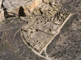 Chaco Canyon Ruins, New Mexico Photographie