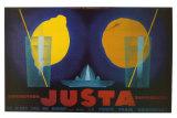 Justa Posters by Jean Mercier